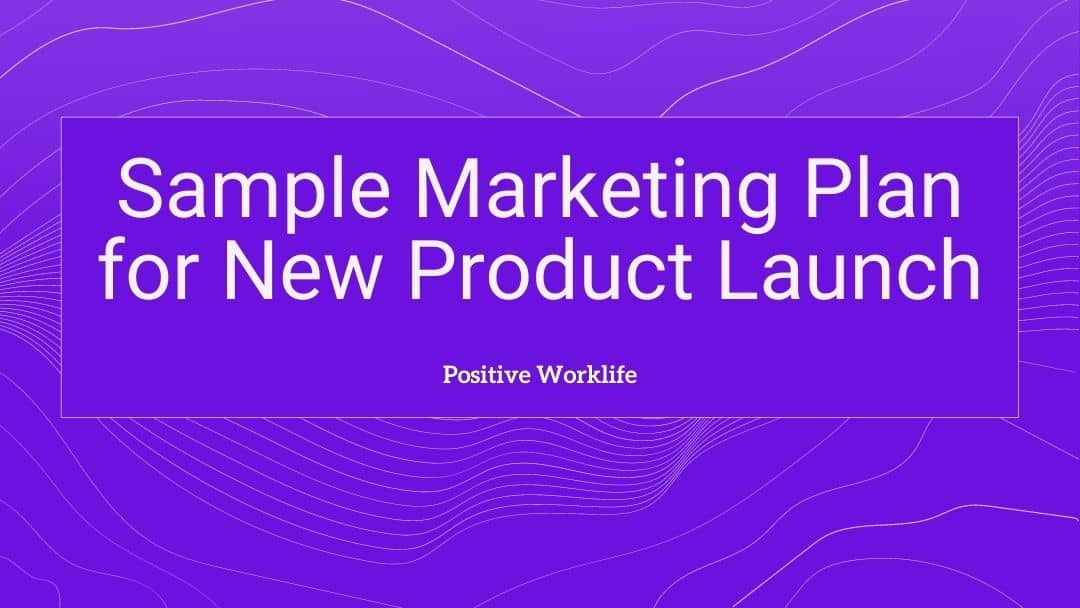 Sample Marketing Plan for New Product Launch